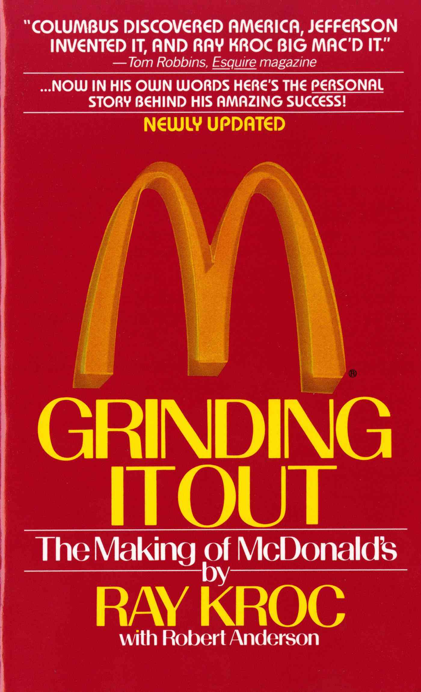Grinding It Out By Kroc, Ray/ Anderson, Robert